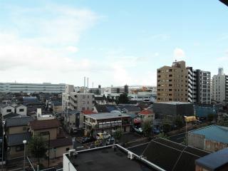 横浜市鶴見区の賃貸マンション ライオンズマンション生麦第5 602号室 眺望