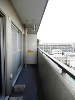 東京都大田区の賃貸マンション NICハイム多摩川 バルコニー