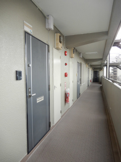 東京都大田区の賃貸マンション NICハイム多摩川 玄関