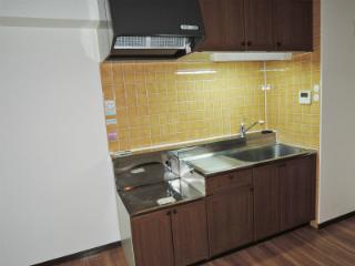 横浜市鶴見区の賃貸マンション ベルカーサ生麦 503号室 キッチン