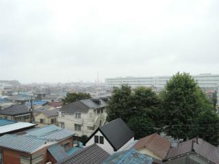 横浜市鶴見区の賃貸マンション ベルカーサ生麦 503号室 眺望