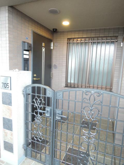 横浜市鶴見区の賃貸マンション ナイスビューリヨン横濱鶴見705号室 玄関