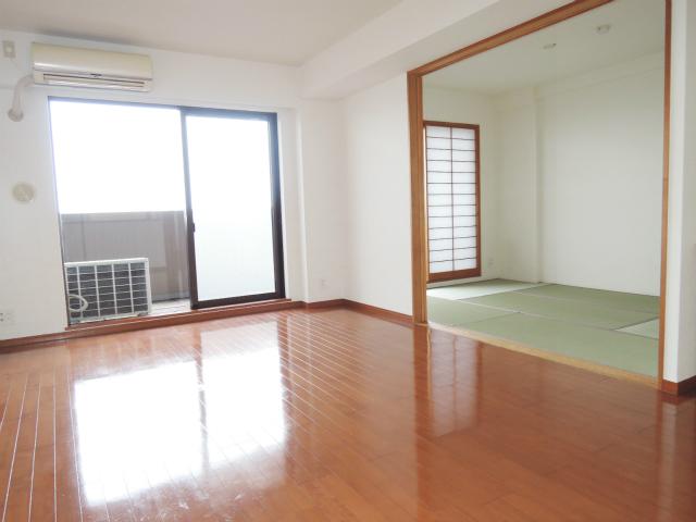 横浜市鶴見区の賃貸マンション ナイスビューリヨン横濱鶴見705号室 洋室