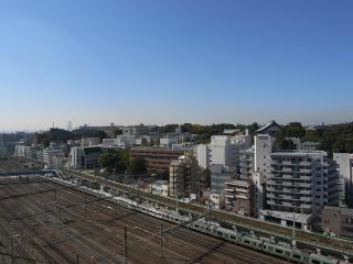 横浜市鶴見区の分譲賃貸マンション ロイヤルタワー横濱鶴見 1010号室 眺望