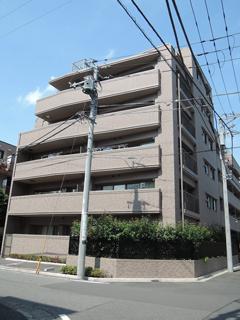 横浜市港北区の分譲賃貸マンション ナイスサンソレイユ日吉 204号室 外観です
