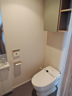 神奈川県川崎市幸区の賃貸マンション クレッセント川崎タワー 2706号室 トイレ