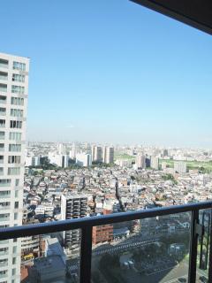 神奈川県川崎市幸区の賃貸マンション クレッセント川崎タワー 2706号室 眺望