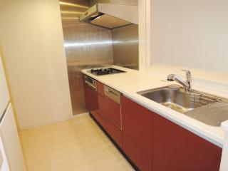 横浜市都筑区の賃貸マンション パークシティLaLa横浜 462号室 キッチン