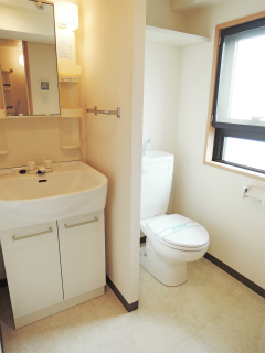 東京都大田区の賃貸マンション ハイネス多摩川 408号室 洗面