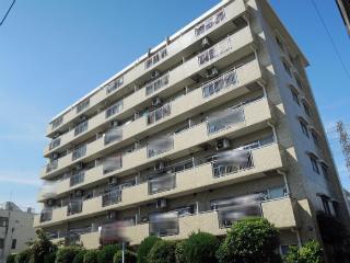 横浜市鶴見区の賃貸マンション グレイスプラザ鶴見 502号室 外観です