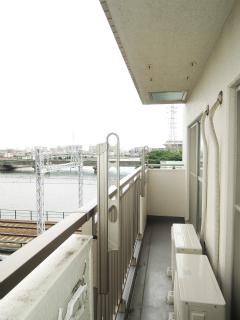 横浜市鶴見区の賃貸マンション グレイスプラザ鶴見 502号室 バルコニー