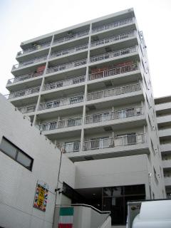 横浜市港北区の賃貸マンション NICハイム綱島第8 402号室 外観です