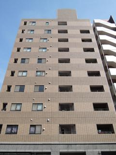 横浜市鶴見区の賃貸マンション ベルカーサ生麦 503号室 外観です