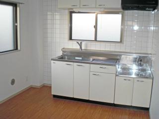 川崎市幸区の賃貸マンション 加賀見ビル 306号室 キッチン