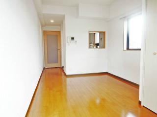 東京都大田区の賃貸マンション ハイネス多摩川 408号室 フローリングの洋室
