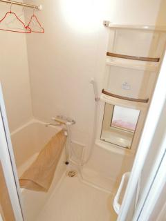 東京都大田区の賃貸マンション ハイネス多摩川 408号室 浴室