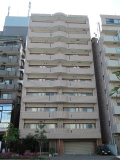 川崎市中原区の賃貸マンション グランイーサ新丸子 601号室 外観です