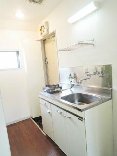 東京都大田区の賃貸マンション クレセント池上 207号室 キッチン