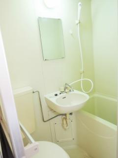 東京都大田区の賃貸マンション クレセント池上 207号室 浴室