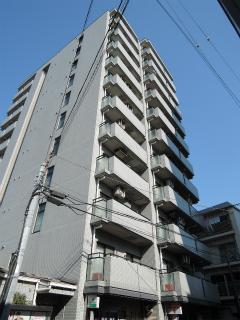 横浜市鶴見区の賃貸マンション  NICEアーバンスピリッツ生麦 802号室 外観です