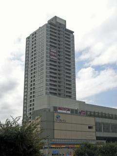横浜市鶴見区の分譲賃貸マンション ロイヤルタワー横濱鶴見 1010号室 外観です