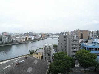 横浜市鶴見区の賃貸マンション リオベルデ鶴声 805号室 眺望