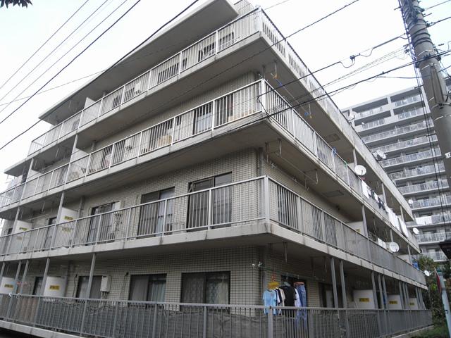 横浜市鶴見区の賃貸マンション グリーンハイツ平安206の外観