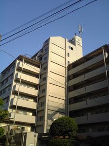 東京都大田区の賃貸マンション NICハイム多摩川 外観