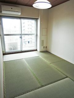 東京都大田区の賃貸マンション ソフトタウン大森 502号室 和室です