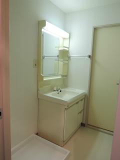 横浜市鶴見区の賃貸マンション 日神パレス鶴見市場 302号室 洗面化粧台