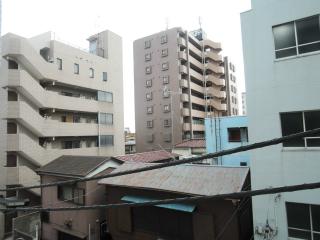 横浜市鶴見区の賃貸マンション 日神パレス鶴見市場 302号室 眺望