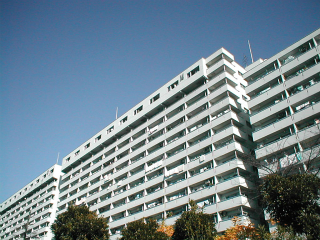 川崎市幸区の賃貸マンション 河原町団地第13号棟 618号室 外観です