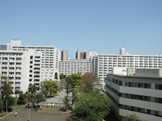 川崎市幸区の賃貸マンション 河原町団地第13号棟 618号室 眺望