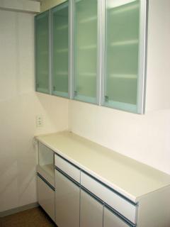 川崎市中原区の賃貸マンション ガーデンティアラ武蔵小杉 934号室 食器棚