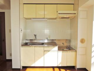 川崎市幸区の賃貸マンション ロンビックレジデンス 201号室 キッチン