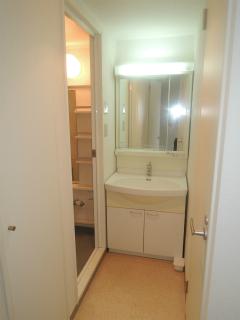 横浜市鶴見区の賃貸マンション 豊岡旭フーガ B102号室 洗面化粧台