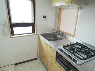 東京都大田区の賃貸マンション ハイネス多摩川 408号室 キッチン