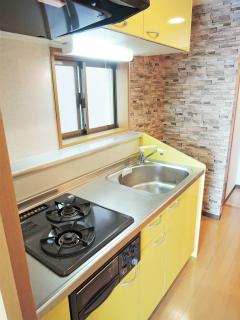 川崎市中原区の賃貸マンション グランイーサ新丸子 601号室 キッチン