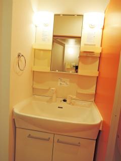 川崎市中原区の賃貸マンション グランイーサ新丸子 601号室 洗面