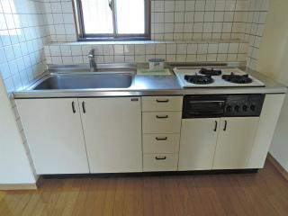横浜市鶴見区の賃貸マンション エルセレ岸谷 402号室 キッチン