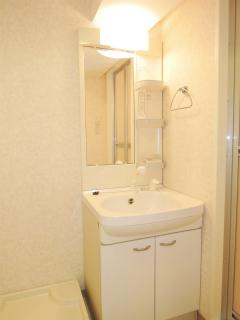 横浜市鶴見区の賃貸マンション トモビレッジ 503号室 洗面