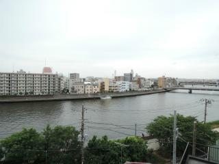 横浜市鶴見区の賃貸マンション トモビレッジ 503号室 眺望