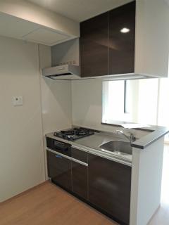 横浜市鶴見区の賃貸マンション アリエッタコート 201号室 キッチン