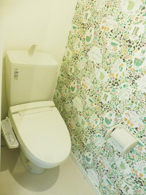 横浜市鶴見区の賃貸アパート Apricot House トイレ