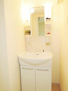 横浜市瀬谷区の賃貸マンション レジェンドスクエア三ツ境Ⅰ 202号室 洗面化粧台
