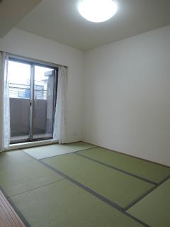 横浜市港北区の分譲賃貸マンション ナイスサンソレイユ日吉 204号室 和室