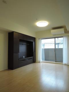 横浜市港北区の分譲賃貸マンション ナイスサンソレイユ日吉 204号室 リビング